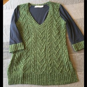 Pilcro and the Letterpress Dually Knit Sweater